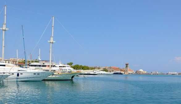 Griechenland mit dem Schiff
