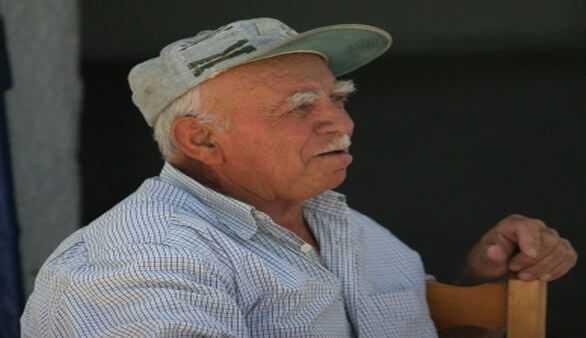 Älterer griechischer Mann