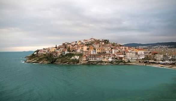 Kavala in Makedonien