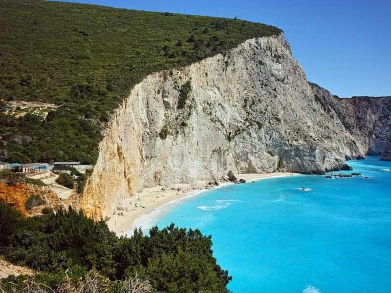 Die Landschaft in Griechenland