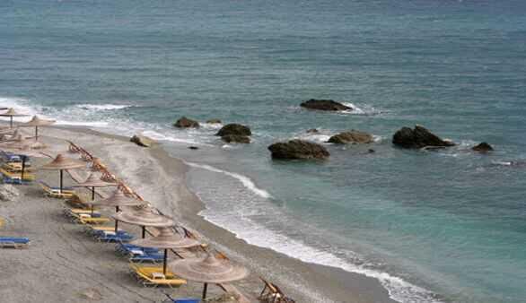 Strand in Larisa