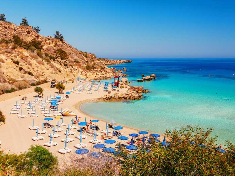 Strand in Griechenland